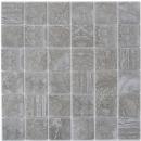 Mosaikfliese Natursteinoptik dunkelgrau Struktur Fliesenspiegel Küche MOS16-0208_f | 10 Mosaikmatten