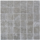 Mosaik Fliese Keramik Cortona dunkelgrau MOS16-0208