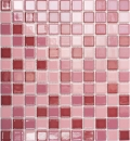 Mosaik Fliese Keramik altrosa glänzend MOS18-1002