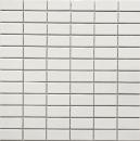 Mosaik Fliese Keramik Stäbchen weiß glänzend Fliesenspiegel Küche MOS24B-0101