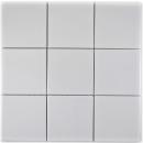 Mosaik Fliese Keramik weiß glänzend Fliesenspiegel Küche MOS23-0101_f