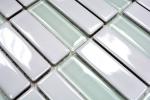 Mosaik Fliese Keramik Glas Stäbchen weiß glänzend Glas MOS24-ST315_m