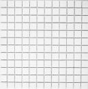 Keramikmosaik WEISS MATT Duschrückwand Badfliese Küchenrückwand MOS18D-0111