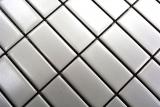 Mosaik Fliese Keramik Stäbchen weiß matt Badewannenverkleidung MOS24B-0111_m