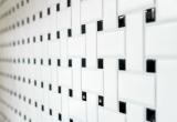 Mosaik Fliese Keramik Basket weiß matt schwarz matt MOS13-CBAS19_m