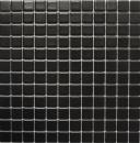 Mosaikfliese Keramik schwarz matt Fliesenspiegel Küchenrückwand MOS18D-0311