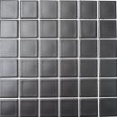 Mosaik Fliese Keramik schwarz matt Fliesenspiegel Küchenrückwand MOS16-0311_f