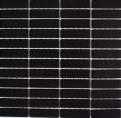 Mosaik Fliese Keramik Stäbchen schwarz matt Mosaikwand Küchenrückwand MOS24-0311_f
