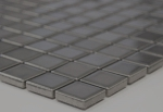 Mosaikfliese Keramik metall grau Küchenrückwand Spritzschutz BAD  MOS18D-0204_m