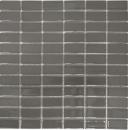 Mosaik Fliese Keramik metallgrau Stäbchen metall glänzend MOS24B-0204