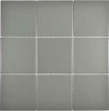 Mosaik Fliese Keramik metall matt Küchenrückwand Spritzschutz MOS23-2201