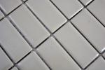 Mosaik Fliese Keramik Stäbchen schlamm glänzend Fliese WC Badfliese MOS24D-2401_m