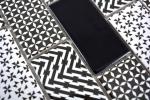 Mosaikfliese Keramik weiß grau schwarz Subway Fliesenspiegel MOS26M-0301_m
