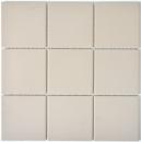 Mosaik Fliese Keramik hellbeige unglasiert Duschtasse Bodenfliese MOS22-1202-R10