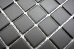 Mosaik Fliese Keramik braun unglasiert Wandfliesen Badfliese MOS18-CU050_m