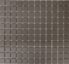 Mosaik Fliese Keramik grau unglasiert MOS18B-0211-R10