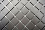 Mosaik Fliese Keramik grau unglasiert Duschtasse Bodenfliese MOS18B-0211-R10_m