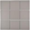 Mosaik Fliese Keramik grau unglasiert Küchenrückwand Spritzschutz MOS22-0202_f
