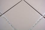 Mosaik Fliese Keramik grau unglasiert Küchenrückwand Spritzschutz MOS22-0202_m