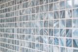 Mosaik Fliese Muschel blaugrau Wandfliesen Badfliese MOS150-SM2582_m