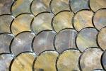 Mosaik Fliese Kupfer kupfer Fächer braun Fliesenspiegel Küche MOS49-1504_m