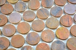 Mosaik Fliese Kupfer kupfer Knopf braun Fliesenspiegel Küche MOS49-1506_m