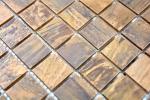 Mosaik Fliese Kupfer kupfer braun Fliesenspiegel Küche MOS49-1510_m