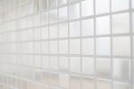 Mosaik Fliese Edelstahl silber silber Stahl gebürstet Fliesenspiegel Küche MOS129-23D_m