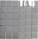 Mosaik Fliese Edelstahl silber silber Stahl glänzend MOS129-0248