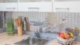 Mosaik Fliese Edelstahl silber Rechteck silber Stahl glänzend MOS129-0215_m
