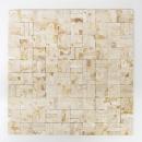 Mosaik Fliese Marmor Naturstein Parkett Splitface sunny beige 3 D MOS42-x3d63