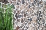 Mosaik Fliese Marmor Naturstein Bruch Ciot Impala braun geflammt MOS44-1306_m