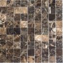 Mosaik Fliese Marmor Naturstein Impala braun poliert MOS42-1306