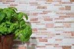 Mosaik Fliese Marmor Naturstein beige rot Brickmosaik Biancone Rosso MOS40-0225_m