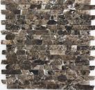Mosaik Fliese Marmor Naturstein beige Brick Castanao MOS40-0185