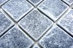 Mosaik Fliese Marmor Naturstein hellgrau Bardiglio Antique Marble MOS40-40048_m
