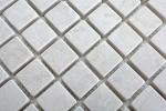 Mosaik Fliese Marmor Naturstein elfenbein Botticino Antique Marble MOS40-41023_m