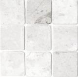 Fliese Marmor Naturstein weiß Fliese Ibiza Antique Marble MOSF-45-42010