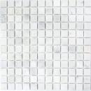 Mosaik Fliese Marmor Naturstein weiß Ibiza Antique Marble MOS40-42023