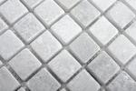 Mosaik Fliese Marmor Naturstein weiß Ibiza Antique Marble MOS40-42023_m