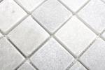 Mosaik Fliese Marmor Naturstein weiß Ibiza Antique Marble MOS40-42048_m