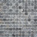 Mosaik Fliese Marmor Naturstein schwarz Nero Antique Marble MOS36-0306-A