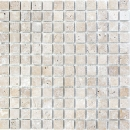 Mosaik Fliese Travertin Naturstein walnuss braun Duschtasse Duschwand Spritzschutz Fliesenspiegel Küche - MOS43-44023