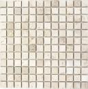Mosaik Fliese Travertin Naturstein hellbeige creme Spritzschutz Wandverkleidung Küchenrückwand Duschtasse - MOS43-46023