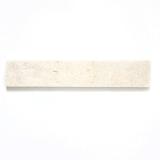 Sockel Kalkstein Naturstein weißgelb Sockel Seabed Limestone brushed MOSSock-48470
