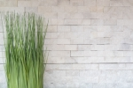 Mosaik Fliese Marmor Naturstein weiß Brick Splitface Ibiza Sugar Marble 3D MOS45-0204_m