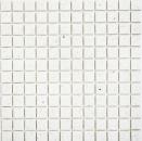 Mosaik Fliese Quarz Komposit Kunststein Artificial weiß MOS46-ASM21