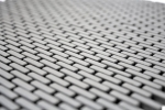 Mosaik Fliese ECO Recycling GLAS Brick Enamel graubraun matt MOS140-B25G_m