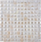 Mosaik Fliese ECO Recycling GLAS ECO coffee metallic 3DF MOS350-24