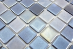 Mosaik Fliese ECO Recycling GLAS ECO anthrazit metallic MOS350-08_m
